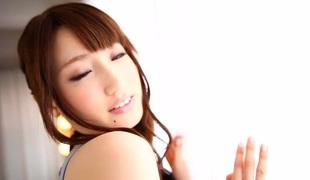Incredible Japanese model Karin Aizawa in Hottest cunnilingus, oldie JAV movie