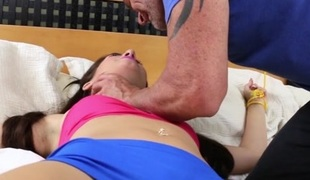Joseline Kelly in I Can't Make no doubt of You're Doing This - FamilyStrokes