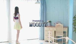Crazy Japanese floozy in Incredible Teens, Small Marangos JAV clip