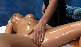 oiled up added to go off at a tangent babe gets fucked downright fucking hard