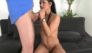 Euro amateur banged detach from behind vulnerable casting