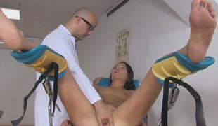 Nataly Blue-eyed wants stupendous pole in her juicy hallow tunnel