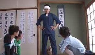 Astounding Japanese whore Azumi Yukino in Hottest college, threesomes JAV clip