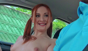Eva Berger in Redhead Cheerleader Gets Fucked - StrandedTeens