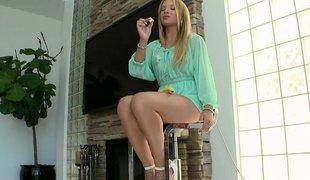 Eighteen yo beautiful teaser Alyssa Branch