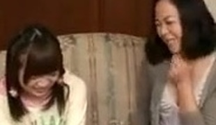 Mother and daughter Have Fun