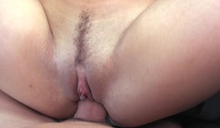 A sweetheart with nipple piercings receives fucked in a car really well