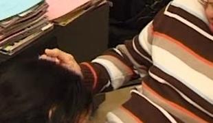 Arabian girl enjoying some hardcore fucking after fellatio