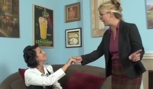Shay Golden and Roxanne Hall share pecker