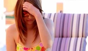 Brunette bikini teen fools concerning yon a lesbian porn dignitary