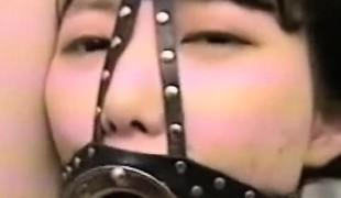 Extreme Oriental Teen Facial Bondage