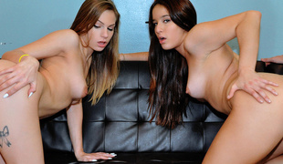 Mila & Sydney Cole in 2 Sluts Play a Dirty Game - RealSlutParty