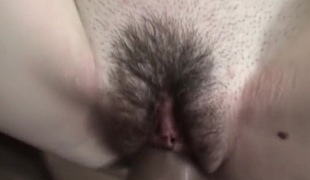 Fucking juicy pussy with brazilian big wang close up