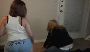 Most good twerking web camera legal age teenager movie scene
