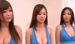 Fabulous Japanese models Erina, Haruki Sato in Hottest JAV censored Fingering, Hairy video