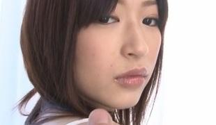 Incredible Japanese sweetheart Riko Oshima in Exotic JAV uncensored Shaved movie