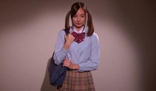 Best Japanese girl Karina Nishida in Crazy college JAV movie