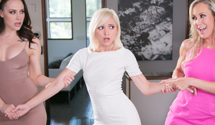 Brandi Love  Chanel Preston  Eliza Jane in Getting Caught: Almost Freaky - GirlsWay