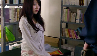 Arisa Misato in Sensei Arisa bonks the janitor - EritoAvStars