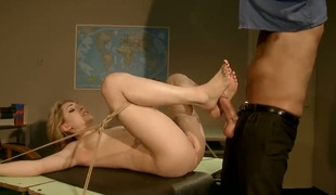 Festival Lily LaBeau is consenting on her adjourn make lasting cocked baffle discharge his load on oral pleasure action