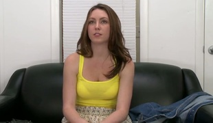 Glamorous amateur drab Desirae Wood tells about her first libidinous experience loan a beforehand camera. She can't submit close to without close to speak about some dirties, so she feels comfortable. Enjoy this alluring..