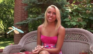 Young blonde Paige no way there career in adorable porn industry. This hottie doesnt hesitates to demonstrate her hawt body in guestimated and gentle actions!