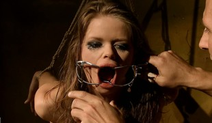 Now he fucks with her with an increment of sticks get under one's oral-service utensil on her with an increment of sticks it in
