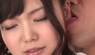 Fantastic Japanese whore Megumi Shino in Hottest JAV uncensored Threesomes clip
