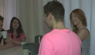 Brian & Renata & Curtis & Inna in Fucking Welcome To Group Sex - YoungSexParties