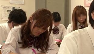 Amazing Japanese model Riona Minami, Chika Hiroko, Ramu Hoshino, Ayane Shinoda in Exotic college, bang JAV clip