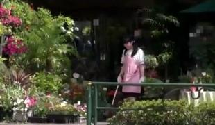 Hairy japanese amateur teen facialized