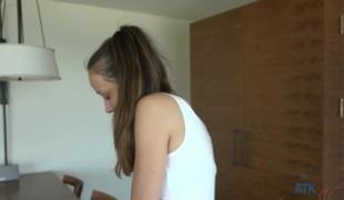 Victoria Rae Black in Virtual Date Movie - AtkHairy