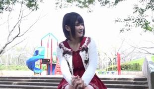 Mad Japanese model Minami Kashii in Incredible outdoor, compilation JAV movie