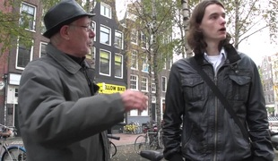 Swedish stud in Amsterdam gets to bang a sexy hooker