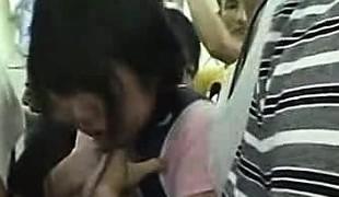 Miniskirt Schoolgirl groped in Educate