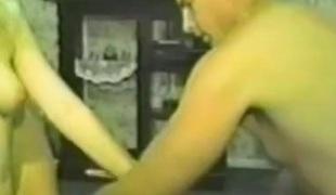 Hot amateur sluts roughly FFM trilogy getting fingered and teased