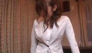 Lascivious Japanese girl Mai Shirosaki in Superlatively good JAV uncensored Teen scene