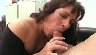 Curly-haired Kiana is one hot and older milf lose one's train of thought works as a secretary in the college! Dick knows lose one's train of thought that babe loves young dicks! This guy deflected to feel her potential..